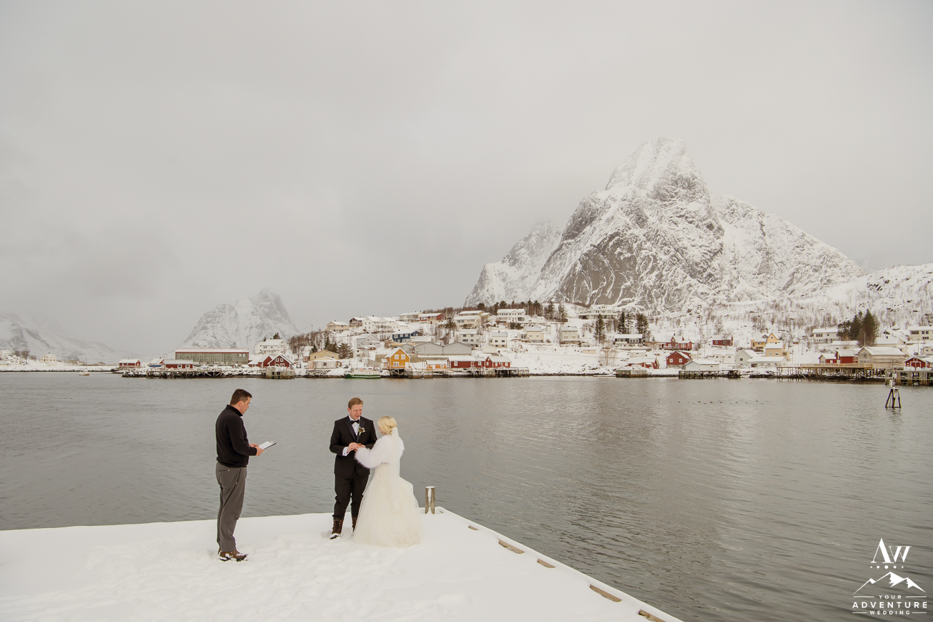 Lofoten Islands Elopement Ceremony