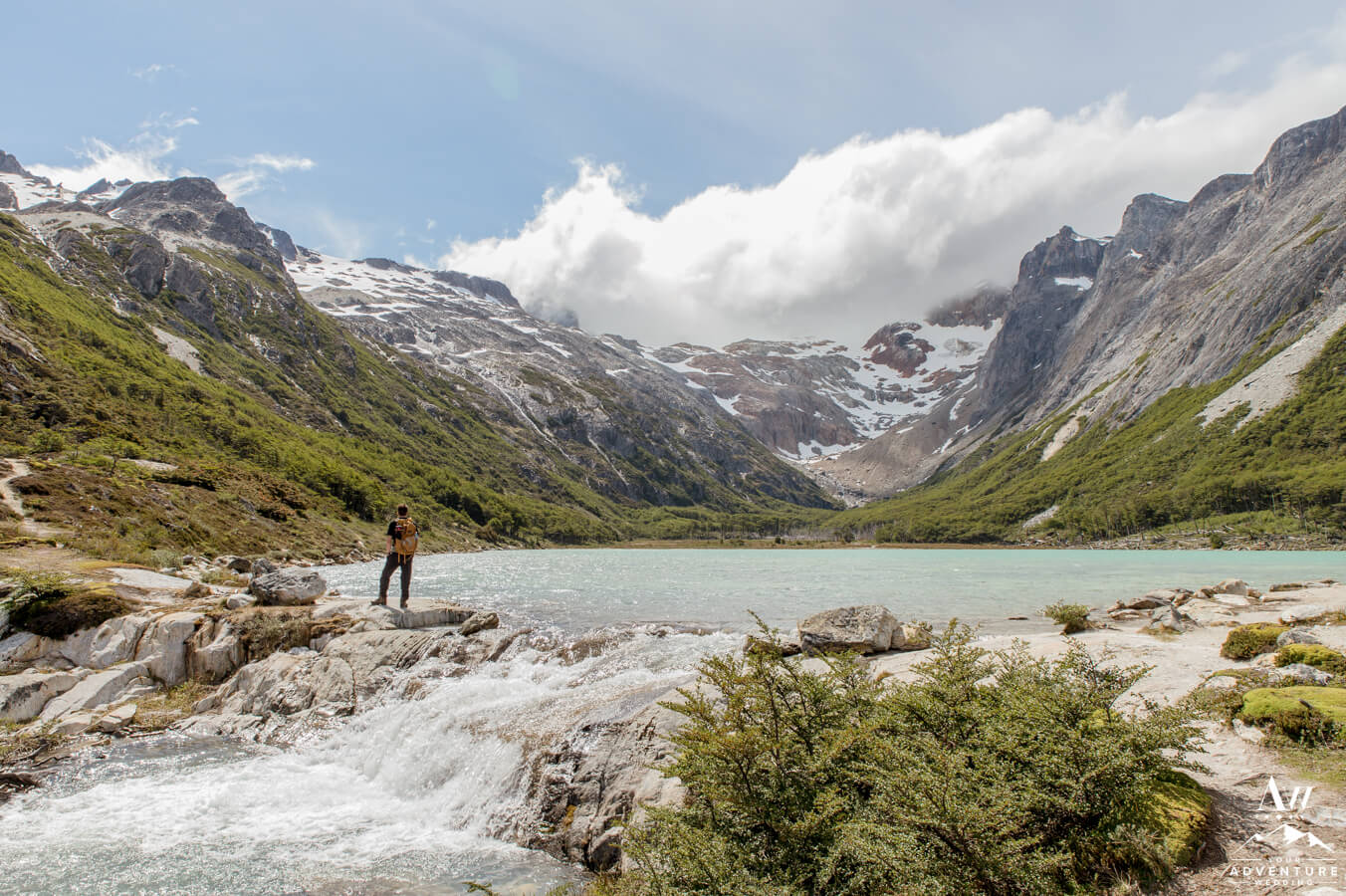 Emerald Lake Wedding in Argentina