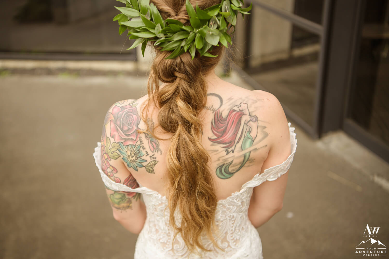 Hairstyle for Adventure Elopement