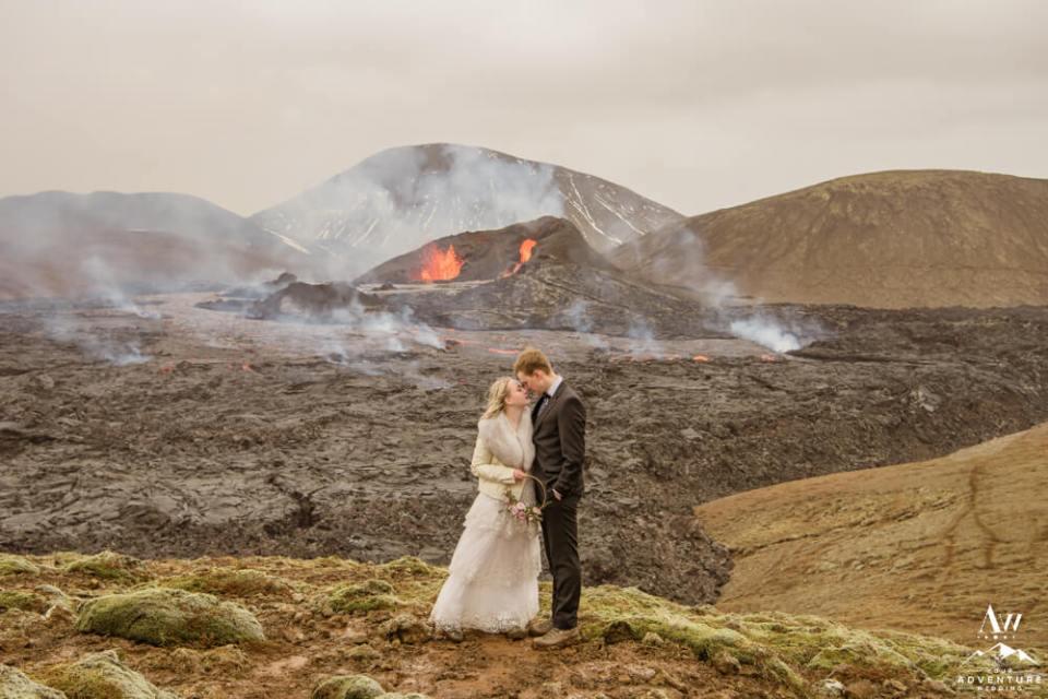 Volcano Wedding Locations Worldwide
