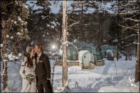Kakslauttanen Igloo Hotel Wedding Photos Your Adventure Wedding