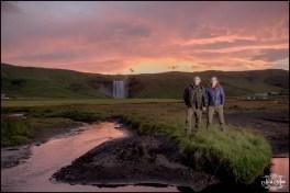 Skogafoss Waterfall Wedding Iceland Sunrise