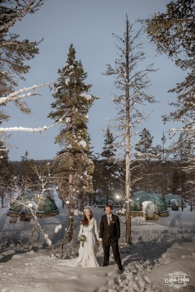Finland Wedding Igloo Hotel by Your Adventure Wedding-8