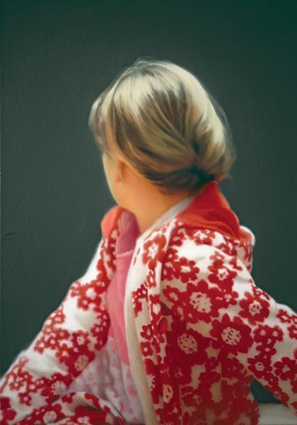 """Gerhard Richter: """"Betty"""", Offsetdruck, 60 x 80 cm, nach dem Ölgemälde Betty, 1988, Catalogue Raisonné: 663-5."""