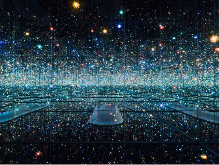 Yayoi Kusama (Japan, *1929), Infinity Mirrored Room – The Souls of Millions of Light Years Away, 2013