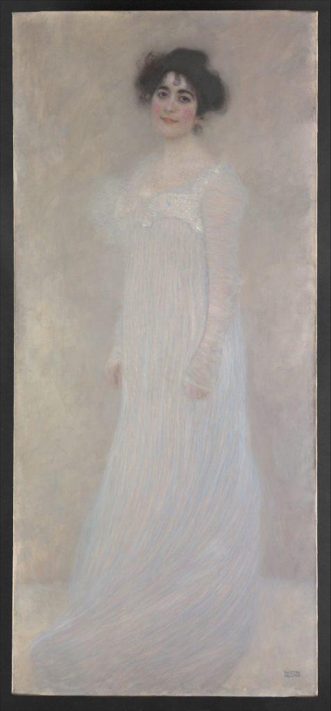 "Gustav Klimt: ""Bildnis der Serena Lederer"", 1899, Öl auf Leinwand, Format: 188 x 83 cm, Metropolitan Museum of Art, New York"