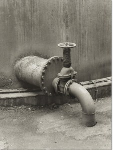 BERND und HILLA BECHER, Pipe Detail: Coal Mine, 1990-1991, Duotone offset lithograph, 30 3/8 × 22 7/8 in, 77.2 × 58.1 cm, Edition of 75