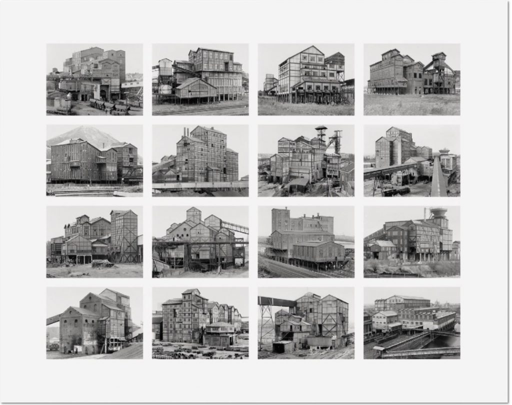 "Bernd und Hilla Becher Aufbereitungsanlagen (Preparation Plants) 2009 Image VI from Typologies Digital pigment print (Ditone) on photo paper, 90 x 110 cm (35½ x 43¼""). Edition of 40, signed ""B. + H. Becher"" on verso by H. Becher, numbered."