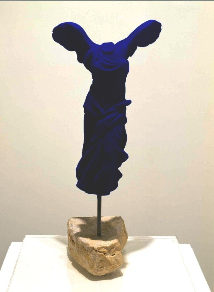 Yves Klein: 'Victoire de Samothrace (The Victory of Samothrace)', 1962