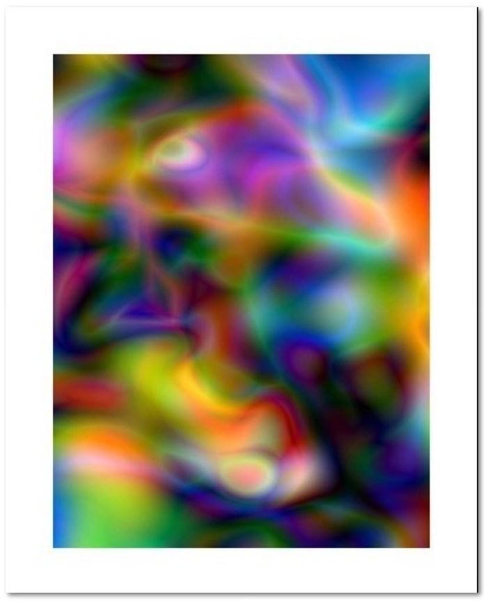 """Thomas Ruff:""""#Substrat 17 / 2003/2010″, Original C-Print, verso nummeriert und handsigniert von Thomas Ruff, Bildformat: 42 x 32 cm, Blattformat: 50 x 40 cm, limitierte Auflage: 100 Exemplare"""