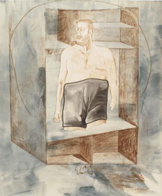 Martin Kippenberger • Untitled • 1996 • Aquatint and etching • Somerset 300 gr. • Image 75,5 x 62,7; Paper 104 x 78 cm • Edition of 24 • Estate stamped
