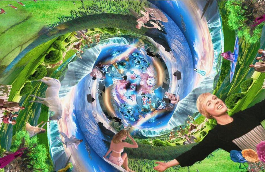 """Marco Brambilla """"Creation (Megaplex), Garden of Eden"""", 2016, Giclee"""