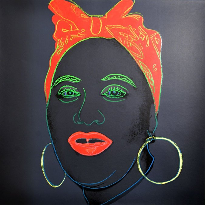 Andy Warhol, from Myths PortfolioMAMMY 1981,Silkscreen, with diamond dust,not signed and numbered,Paper size 38 x 38 inch,