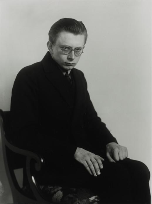 August Sander 'Student of Philosophy [Erich Sander]', 1926, Gelatin silver print, size 9 45 × 7 ½ in 25 × 19 cm