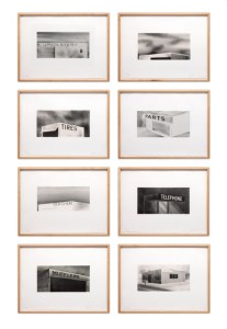 Ed Ruscha, set of eight lithographs on Rives BFK white paper