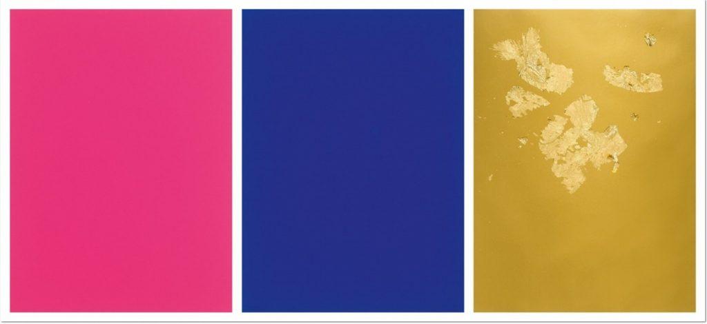 Yves Klein - Monochrome et Feu