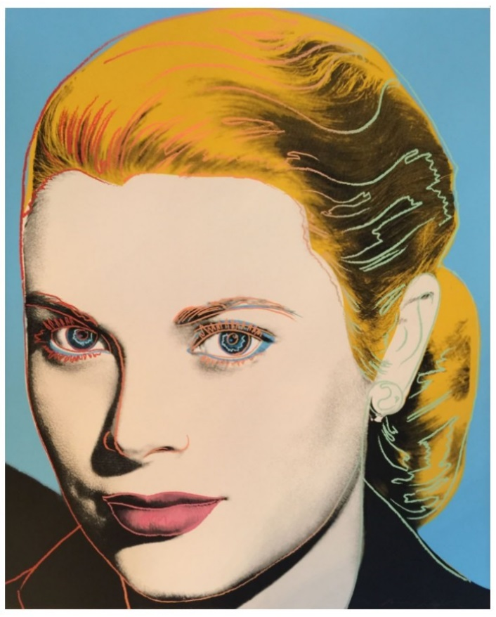 "Andy Warhol, Grace Kelly, 1984, F&S II.305, hand signed and numbered in pencil. Printer Rupert Jasen Smith, New York. Publisher Institute of Contemporary Art, University of Pennsylvania, Philadelphia, Pennsylvania with the consent of the Princess Grace Foundation (U.S.A.) New York. Andy Warhol Prints Catalogue Raisonne 1962-1987 Feldman/Schellmann Fourth Edition II.305, edition of 225, Screenprint on Lenox Museum Board, 40"" x 32"" (101.6 cm x 81.3 cm)"