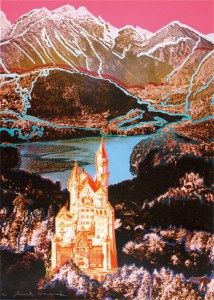 Andy Warhol, Neuschwanstein, 1987, Screenprint on rag paper, 85 x 60 cm (33½ x 23½ in.), signed and numbered, edition of 100