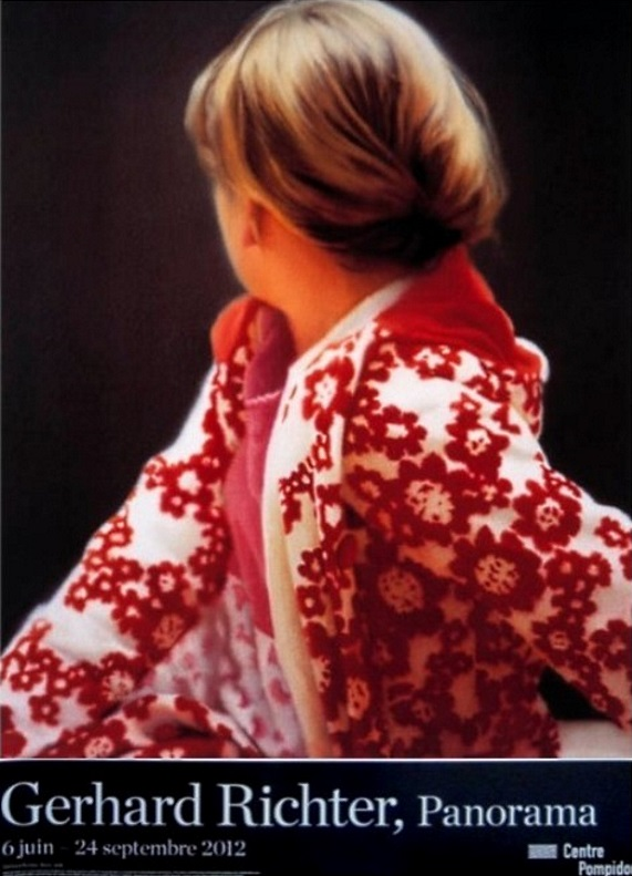 "Gerhard Richter: ""Betty"", 2012. The Official Exhibition poster of the Centre Pompidou, Paris, for the Gerhard Richter Retrospective ""Panorama"", June 6 to September 24, 2012, Paris, coffset print, coated paper, size 60 x 80 cm"