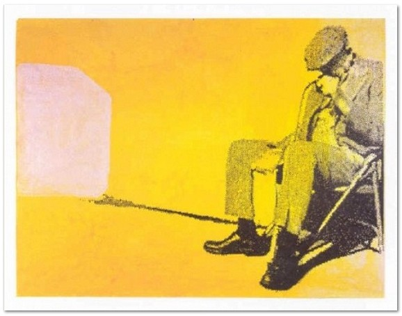Sigmar Polke - I got the Blues - Serigraph on board, board size 55 x 75 cm., image size 48.4 x 64.5 cm., edition 40, signed and numbered, 2008
