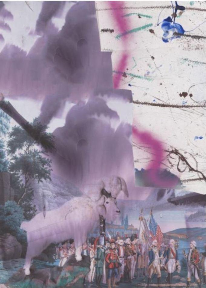 Julian Schnabel - Childhood I 2016 Technik: Pigmentdruck auf Kupferdruckpapier Maße: 130 x 93 cm Auflage: 25 arabisch zzgl. E.A. Signatur: handsigniert & nummeriert