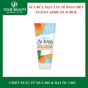 Sữa Rửa Mặt Tẩy Tế Bào Chết Ngừa Mụn St.Ives Acne Control Apricot Scrub