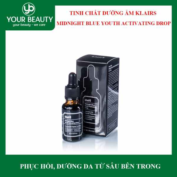 Tinh Chất Dưỡng Ẩm Klairs Midnight Blue Youth Activating Drop