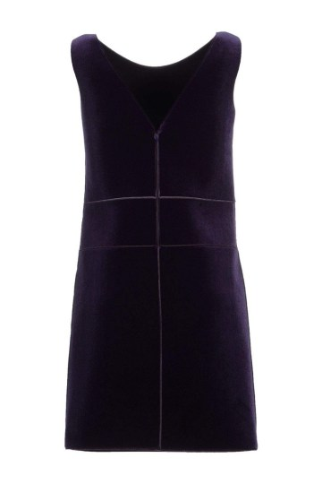 Emperio Armani Purple Dress