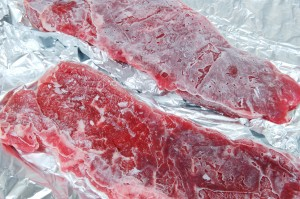 Frozen meat from your new compact freezer...?
