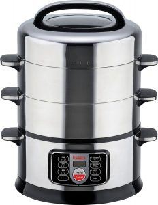 Hannex ESON431S Electric Food Steamer