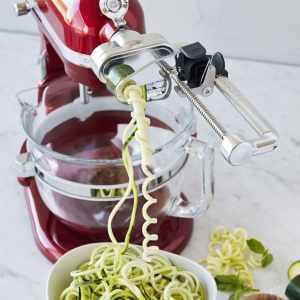 KitchenAid Spiralizer in Action.
