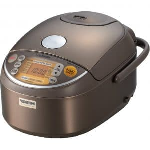 The Zojirushi NP-NVC10 is one of the most advanced rice cookers on the US market.