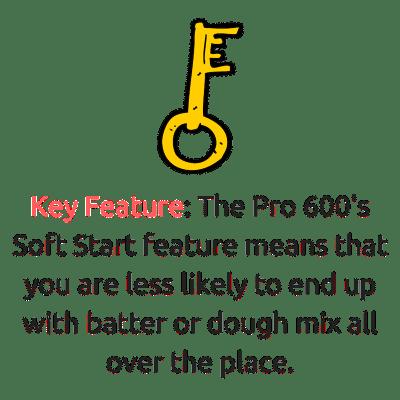 kitchenaid pro 600 soft start