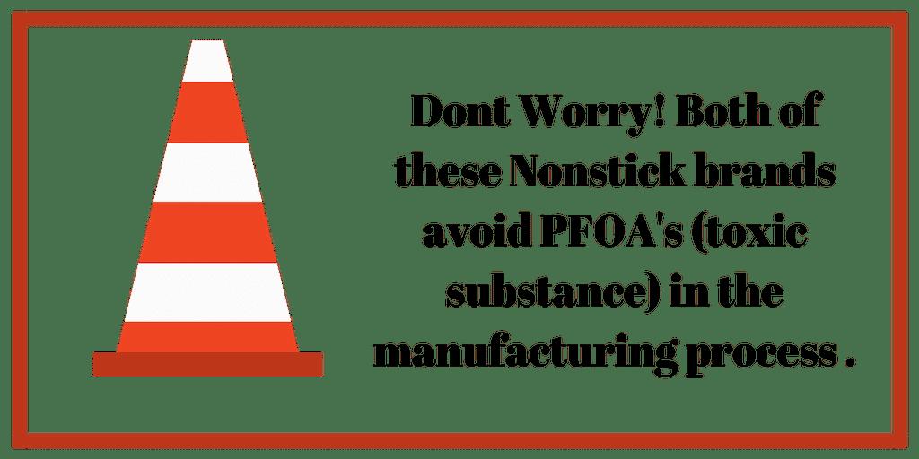 dont worry - no pfoas