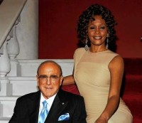 Whitney Houston was suppose to be Clive Davis date for Saturday night's pre-Grammy party