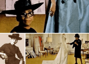 Ann Lowe was a respected black fashion designer who is best known for designing the wedding dress for Jaqueline Kennedy.