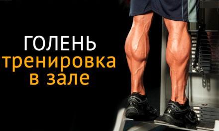 Как накачать икры ног: тренировка на голень