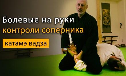 Болевые приемы на руку, плечо, кисть: контроль соперника в айкидо