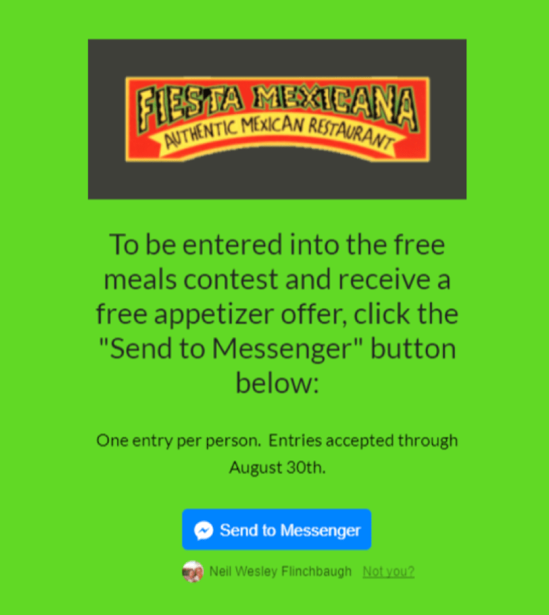 Fiesta Mexicana - Landing Page