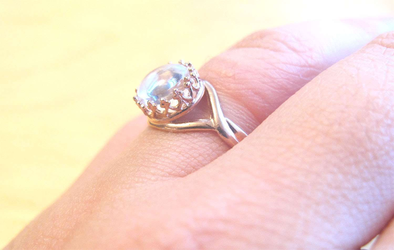 Rose Gold Crown Ring Breast Milk Jewelry Adjustable – Precious ...
