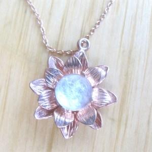 Rose Gold Breast Milk Jewelry & DNA Keepsakes
