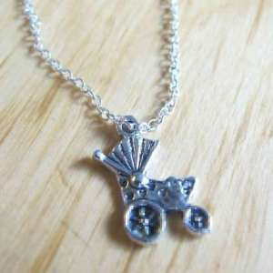 Baby Carriage Charm Breast Milk Necklace Jewelry Add-On