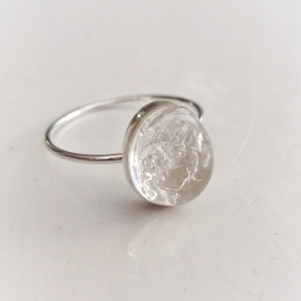 simply sterling silver ring