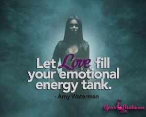 Where do you get your emotional energy?