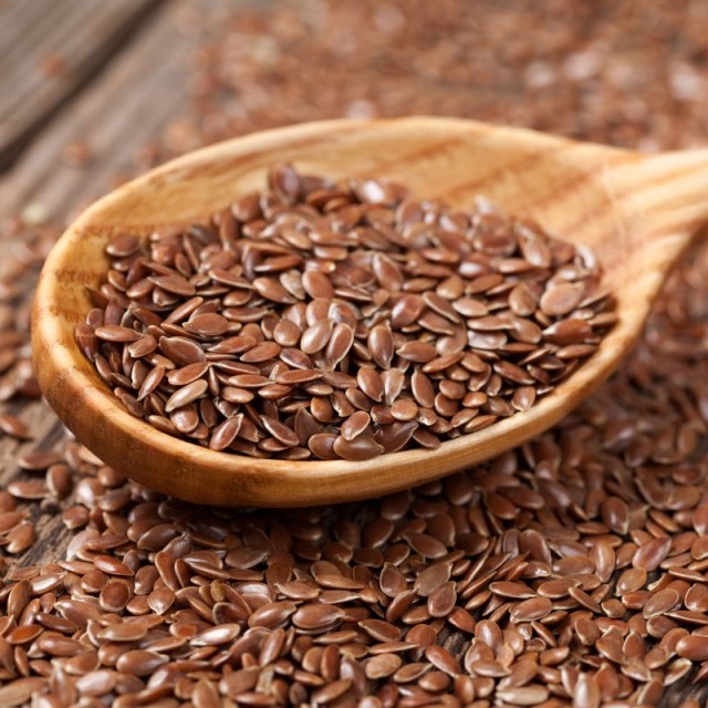 Flaxseeds provide lignans