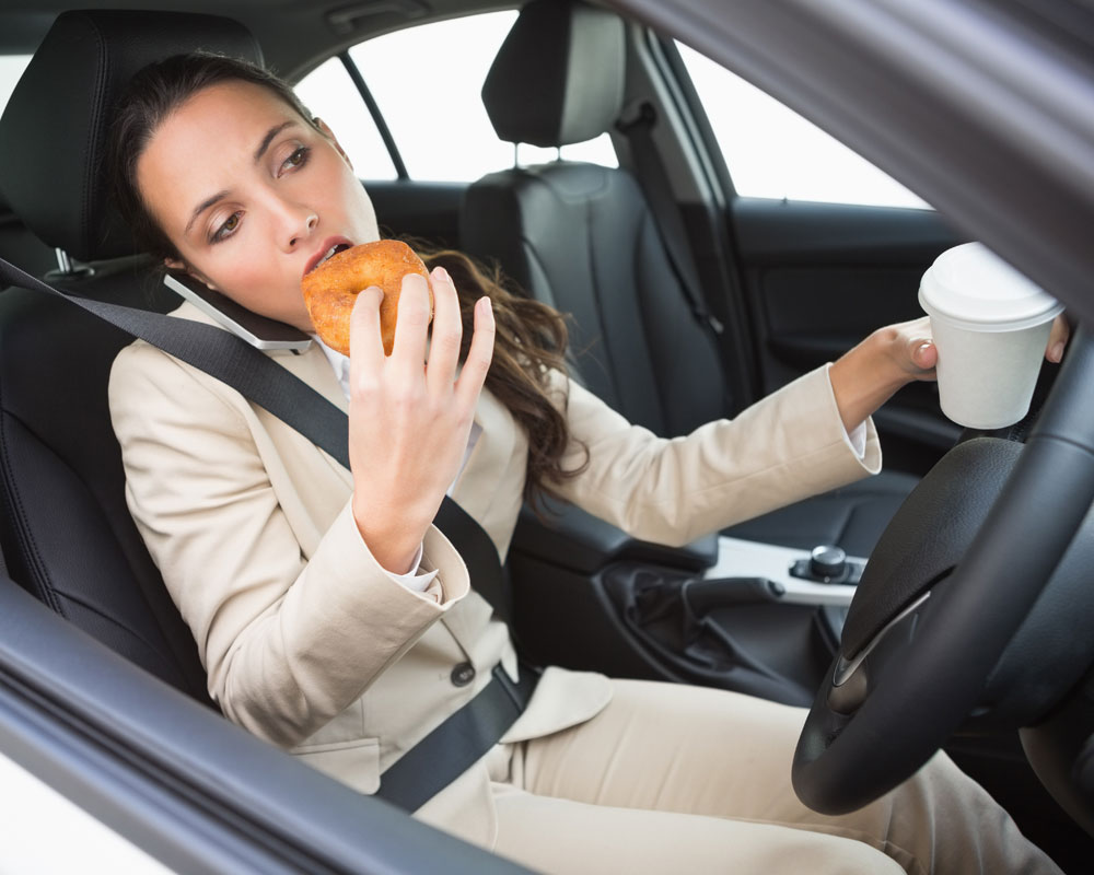 Eating While Stressed is As Bad As Eating Junk