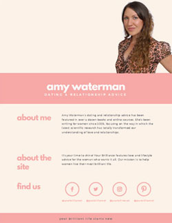 Amy Waterman media kit
