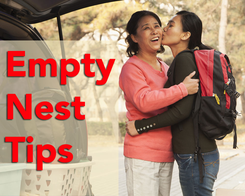 Empty Nest Tips for Rediscovering Yourself with Coach Christine