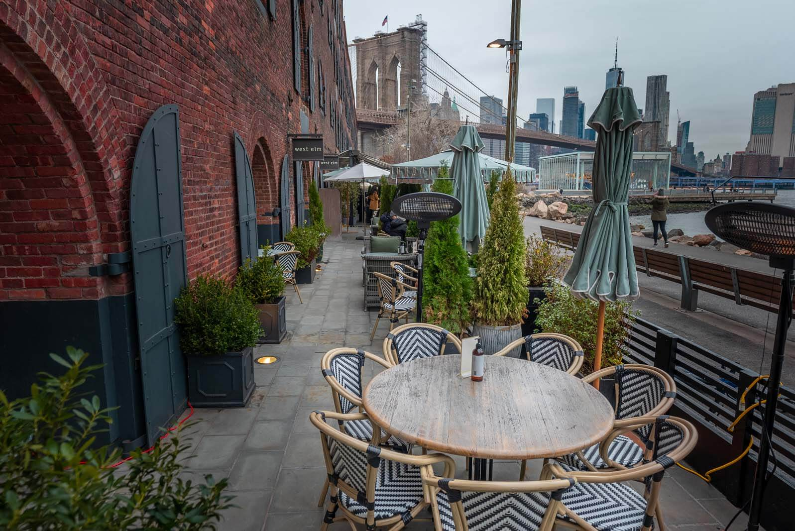 best heated outdoor dining in brooklyn