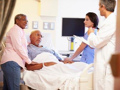 Happy veteran with Medicare Advantage
